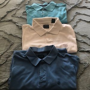 3 IZOD silk Washed Polos